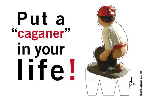 Caganer 01 «Put a Caganer in your life!»